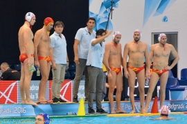 European Water Polo Championship Spain - Russia - foto