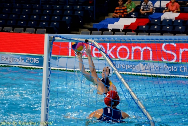 European Water Polo Championship Germany - France