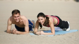 Vežbanje na plaži