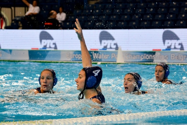 European Water polo championship Hungary - France
