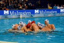European Water polo championship Hungary - Croatia